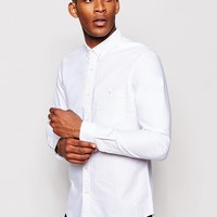 ASOS Oxford Shirt In Long Sleeve