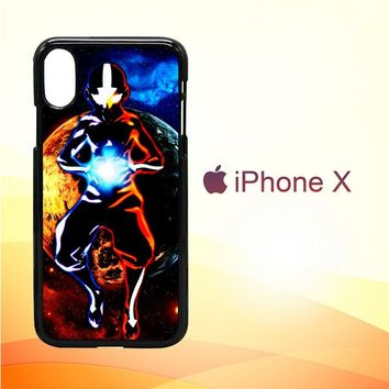 Avatar Aang The Last Airbender Z0003 iPhone X Case