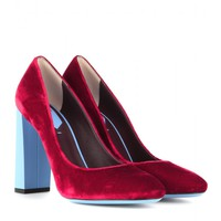 fendi - eloise velvet pumps