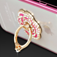 Pink Luxury Ring Phone Case for Iphone 6/6s/plus