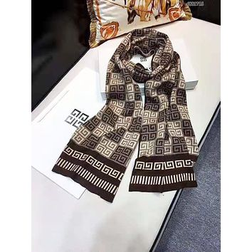 Givenchy Autumn And Winter New Fashion Pattern Print Keep Warm Couple Scarf