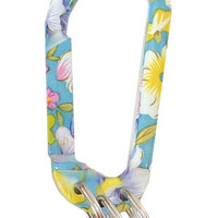 Floral Carabiner Keychain