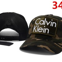 Calvin Klein Women Men Embroidery Sports Sun Hat Baseball Cap Hat