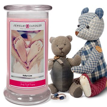 Mother's Love Jewelry Candle