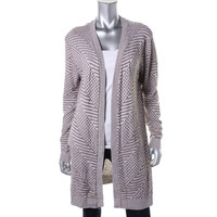 Ceny Womens Knit Open Front Cardigan Sweater