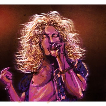 Led Zeppelin | Robert Plant Artwork