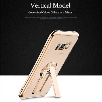 Luxury Kickstand Case for Samsung Galaxy S8 and S8 Plus