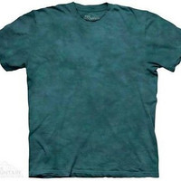 Sequoia Solid Color Green Tie Dye T-Shirt