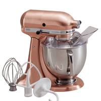KitchenAid KSM152PS Artisan 5 Qt. Custom Metallic Stand Mixer + FREE Ice Cream Maker Attachment, a $79.99 Value