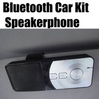Bluetooth Handsfree In-car Visor Kit for All Sony Ericsson Phones
