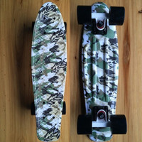 Camouflage Penny Board