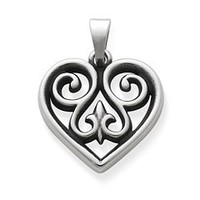 French Heart Charm-Small | James Avery