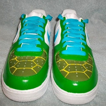 Teenage Mutant Ninja Turtles custom Nike Air Force One TMNT