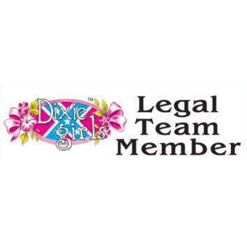 Dixie Girls Legal Team Member Bumper Sticker by Dixie Outfitters®