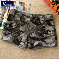 Camouflage shorts Fashion basic new board shorts Women Loose Drawstring hot Short pants Camouflage shorts Hot Sale
