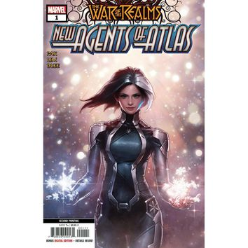 War Of Realms New Agents Of Atlas #1 (Of 4) 2nd Ptg Var