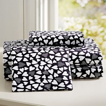 Happy Hearts Sheet Set