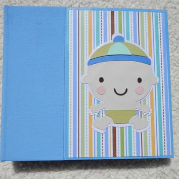 6x6 Baby Boy Scrapbook Album