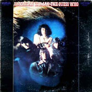 The Guess Who - American Woman (LP, Album, Hol)