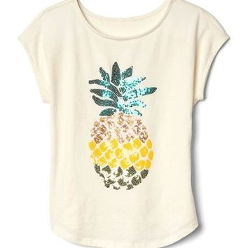 Tropical graphic cap tee | Gap