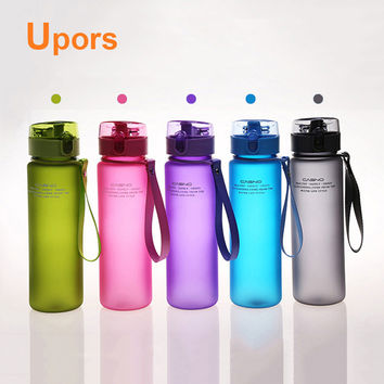 High Quality 550mL Leak Proof and Dust Free Lid Bicycle Camping Sport Plastic Drink Water Bottle BPA Free Water Cup