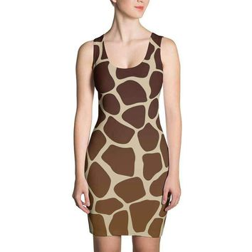 Giraffe Dress Costume