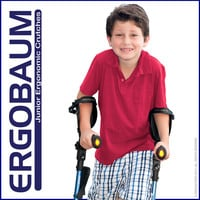 Crutches For Kids and Junior Adults - Ergobaum Junior (Pair)