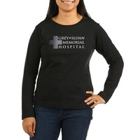 Grey Sloan Women's Long Sleeve Dark T-Shirt> Grey + Sloan Memorial Hospital> Grey's Anatomy TV Store