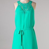 Date Night Out Dress - Green