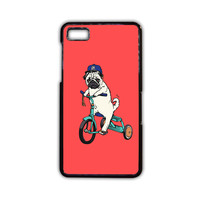 Pug Bicycle For Blackberry Z10/Blackberry Z30/Blackberry Q10 Phone case ZG