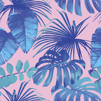 Miami Palms Removable Wallpaper