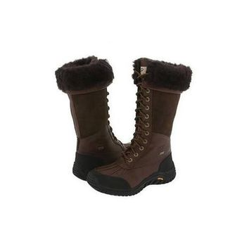 Ugg Boots Cyber Monday Adirondack Tall 5498 Chocolate For Women 122 77