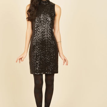 Glamourous Glances Sequin Dress | Mod Retro Vintage Dresses | ModCloth.com