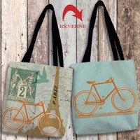 Postcard from Paris Canvas Tote Bag