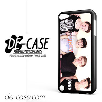 Jc Caylen Ricky Dillon Kian Lawley And Connor Franta DEAL-5838 Apple Phonecase Cover For Ipod Touch 5