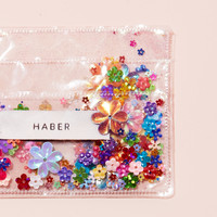 sparkle card holder