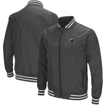NCAA Michigan State Spartans Men's Blade Full Zip Jacket