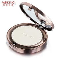 10g Pearl Pressed Powder With Puff Smooth Face Makeup Foundation Whitening Brighten Oil Control Suitable For All Skin Types