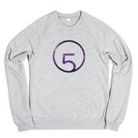 fifth harmony logo sweatshirt-Unisex Heather Grey Sweatshirt