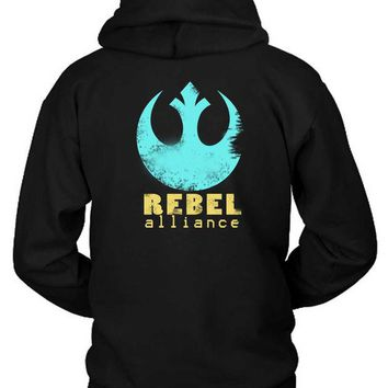 DCCKG72 Star Wars Rebel Alliance Hoodie Two Sided