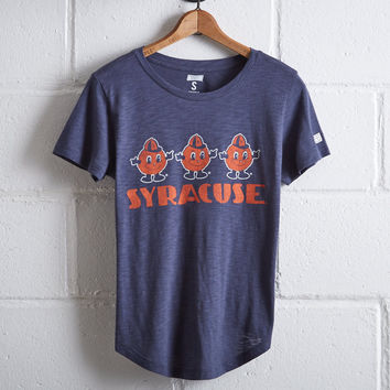 Tailgate Women's Syracuse University T-Shirt, Blue