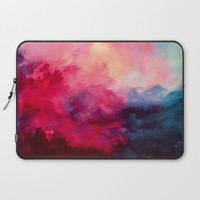 Reassurance Laptop Sleeve by Caleb Troy