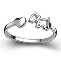 Sterling silver Ring For Daily wear New look
