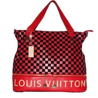 LV Louis Vuitton Women's 2018 Newest Fashion Leather Tote F