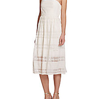 4.collective - Strapless Bohemian Lace Dress - Saks Fifth Avenue Mobile