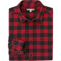MEN FLANNEL CHECK LONG SLEEVE SHIRT | UNIQLO