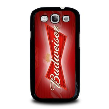 budweiser samsung galaxy s3 case cover  number 1