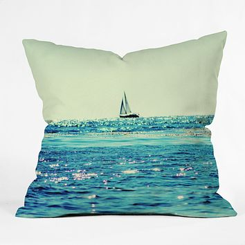 Lisa Argyropoulos Sailin Throw Pillow