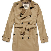 Burberry LondonTwill Trench Coat|MR PORTER