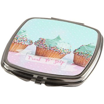 Treat Yo Self Cupcakes Compact